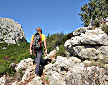Hiking from S. Maria Navarrese to Baunei