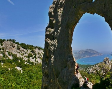Hiking to Cala Luna